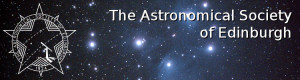 the astronomical society of edinburgh banner