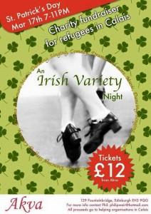 irish variety night at akva