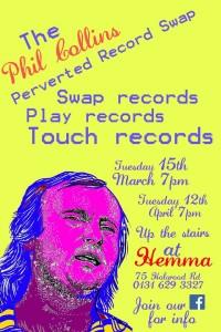 phil collins record swap