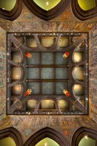 portrait gallery ceiling