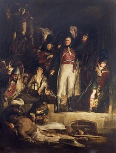sir david baird discovering the body of Sultan Tippoo Sahib