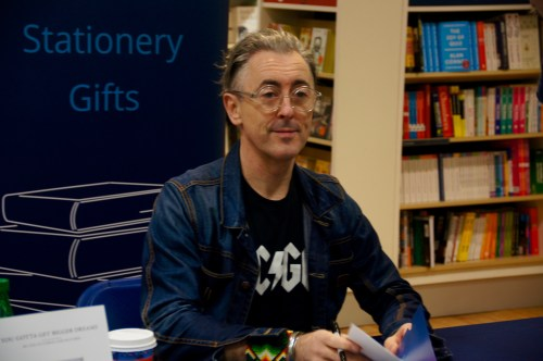 Alan Cumming was in town for a book signing