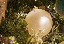 christmas bauble at Holyrood