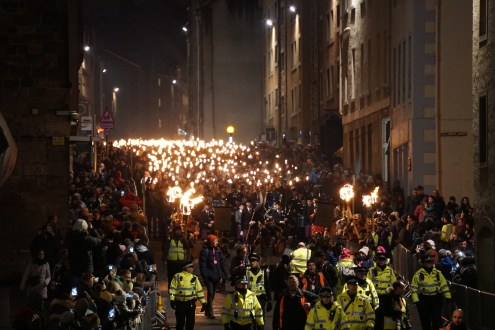 TER Torchlight Procession