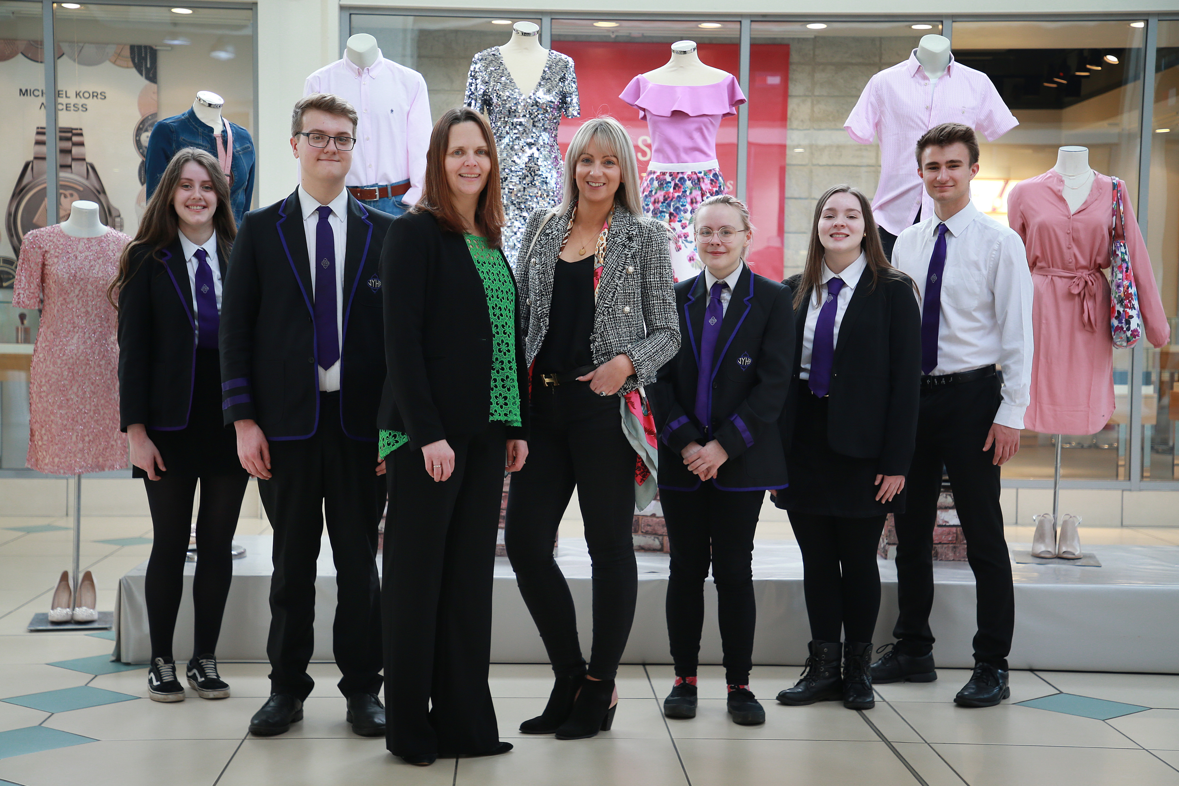 7f57f53dd2c7 Livingston Designer Outlet career programme finishes with top marks ...