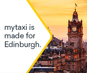 mytaxi launches in Edinburgh today – third off fares until end June