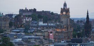 Vista of Edinburgh from Calton HIll