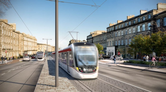 Tram extension may go towards Newhaven