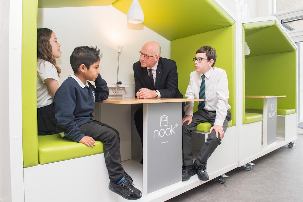 Opening ceremony held at new Edinburgh primary school – The