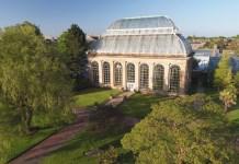 Palm House at Botanic Garden