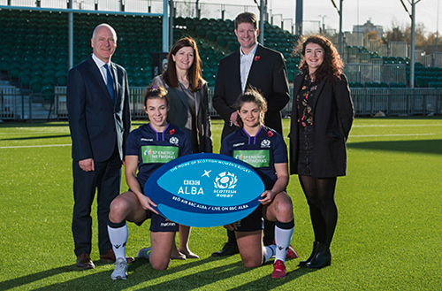 BBC Alba announce a broadcast partnership with Scottish Women's Rugby.
