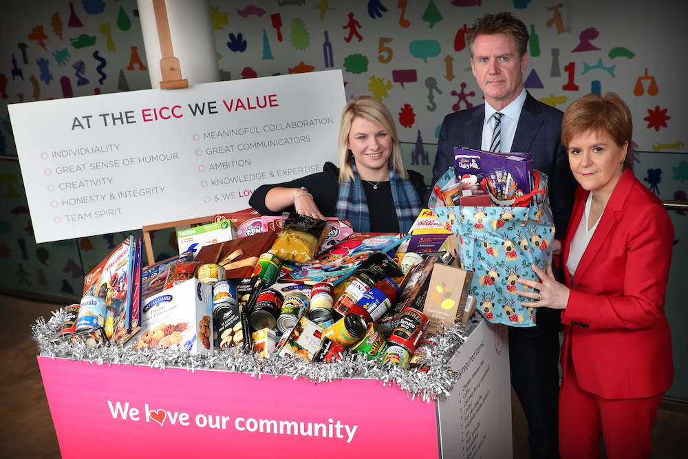 Food Collection Points Launched At Eicc The Edinburgh Reporter