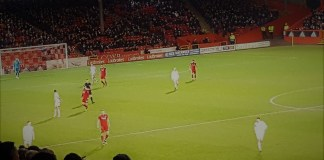 Aberdeen v Hearts at Pittodrie, 22nd December 2018