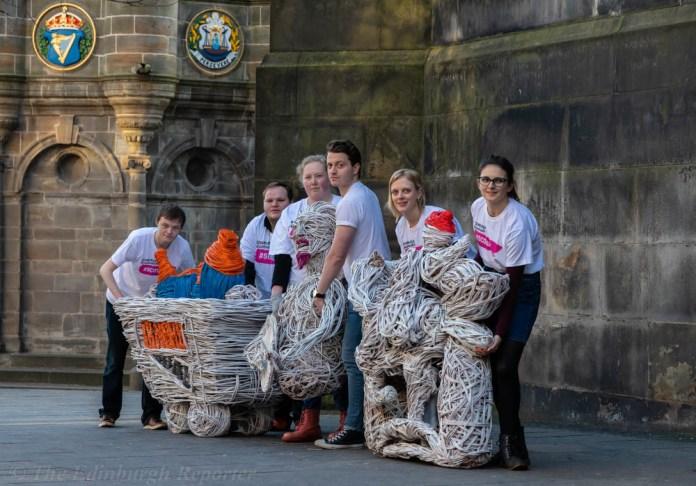 #ScotArt Wicker Sculptures
