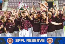 Hearts win the Reserve Cup