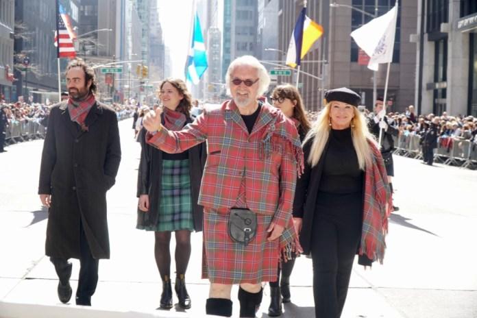 The story of Billy Connolly's kilt – created in Edinburgh