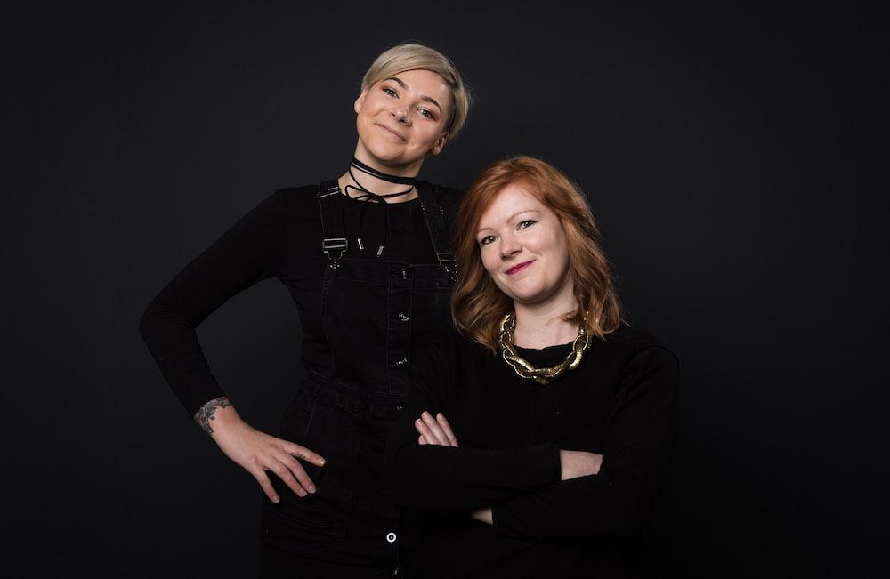 Two Edinburgh finalists at the Wella Professional awards