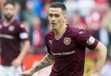 Jamie Walker has returned to Hearts