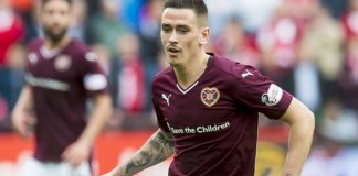 Jamie Walker has returned to Hearts