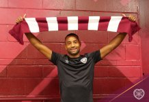 Hearts new signing Loic Damour