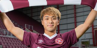 Hearts new signing, Japanese forward Ryotaro Meshino