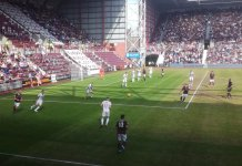 Hearts v Ross County at Tynecastle 10th August 2019