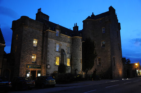 Exterior shot of Dornoch Castle