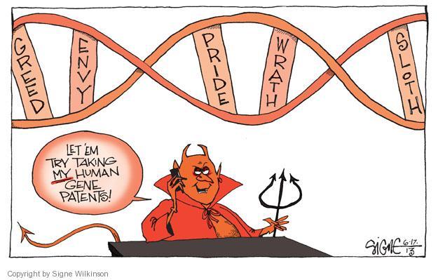 Image result for gene cartoon
