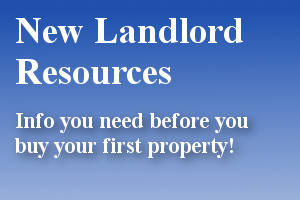 Beginning Landlord Resources - Tips and information for new landlords and beginning investors