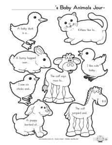 animal worksheet: NEW 475 ANIMAL OFFSPRING WORKSHEETS