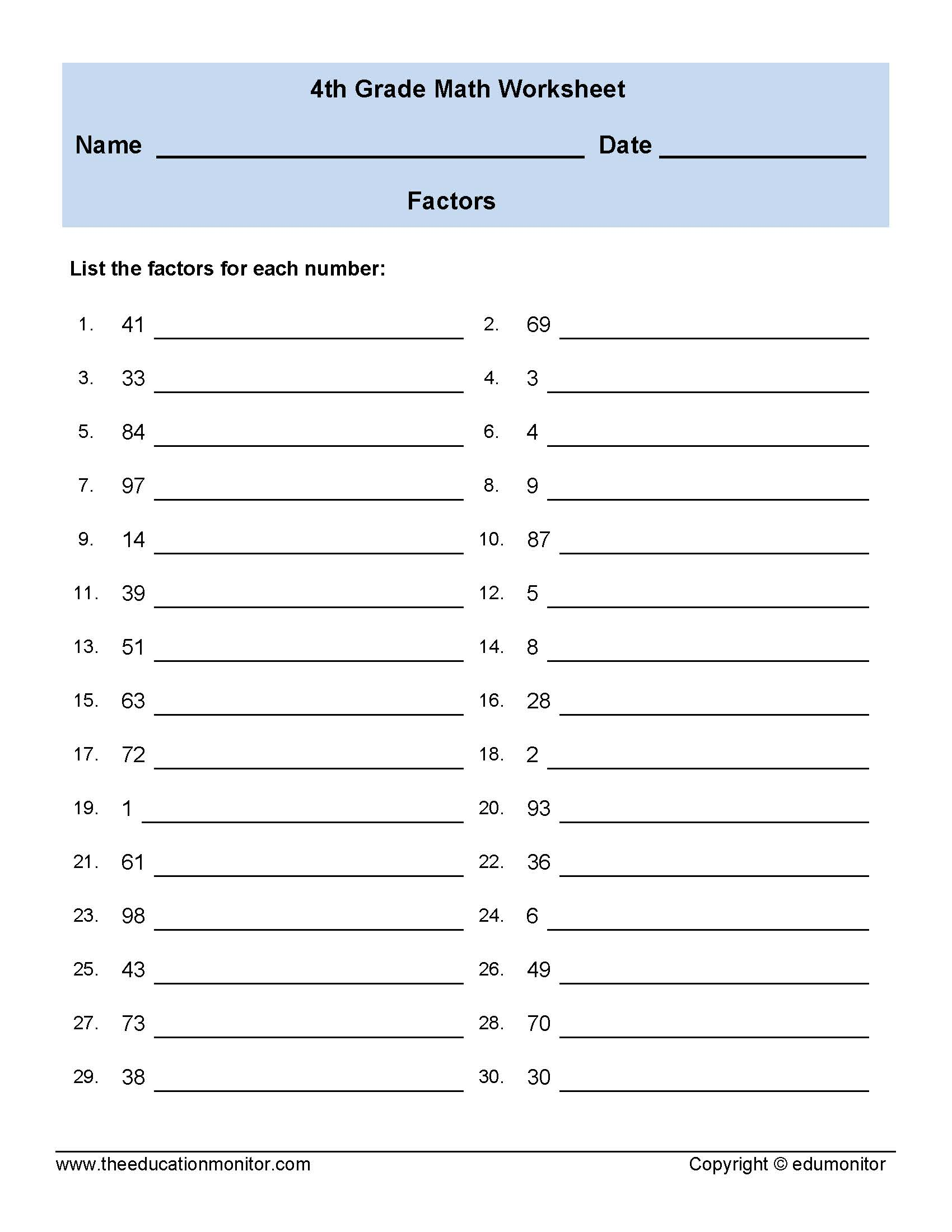 hight resolution of Dol Worksheet Grade 4   Printable Worksheets and Activities for Teachers
