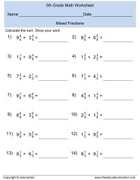 Superteacher Worksheets Fractions