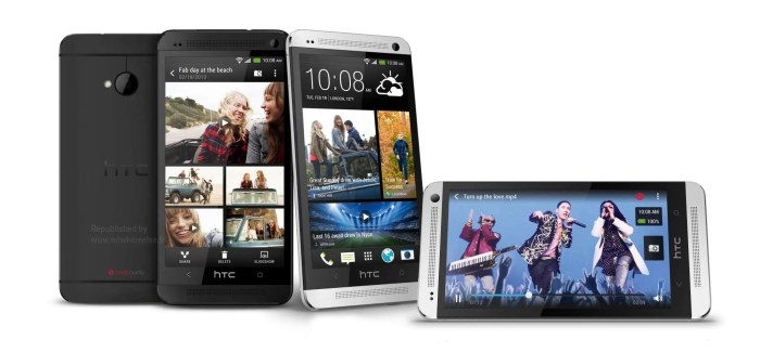 HTC One (aka M7) press shots show up ahead of announcement