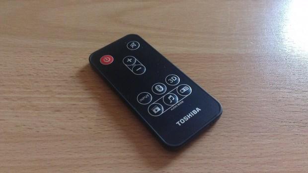 Toshiba Mini 3D Sound Bar Remote