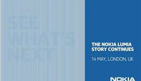 """""""The Nokia Lumia story continues."""" – Lumia Event Scheduled for May 14th in London"""