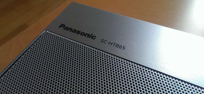Panasonic SC-HTB65 Home Cinema Sound Bar Review