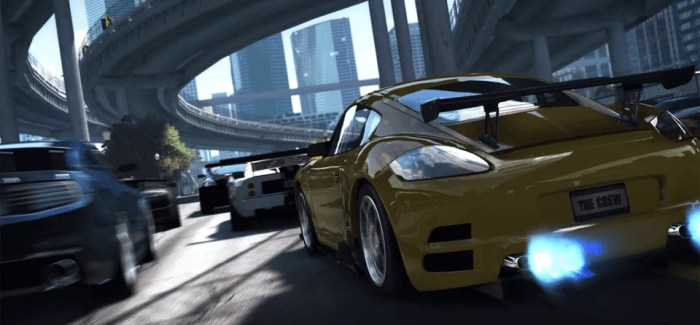 The Crew races into closed console beta this week
