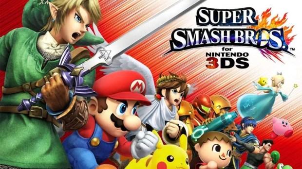 Super Smash Brothers 3DS 3DSXL 2DS