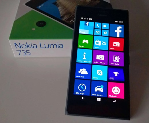 The Nokia Lumia 735