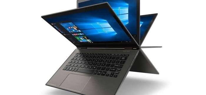 "Toshiba Introduces The Satellite Radius 12, The World's First 12.5"" 4K Convertible Laptop"