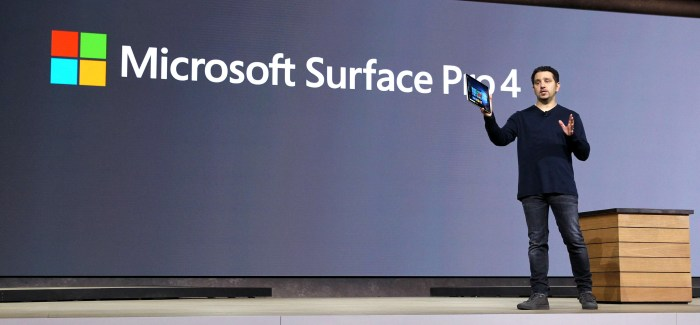 Microsoft unveil Surface Book, Surface Pro 4, Lumia 950/950XL and Band 2