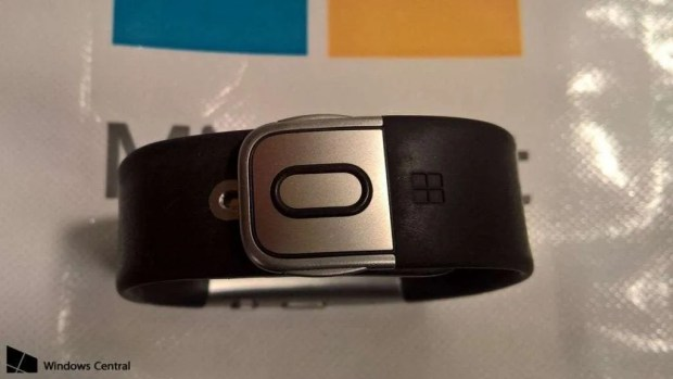 "The leaked ""Microsoft Band 3"""