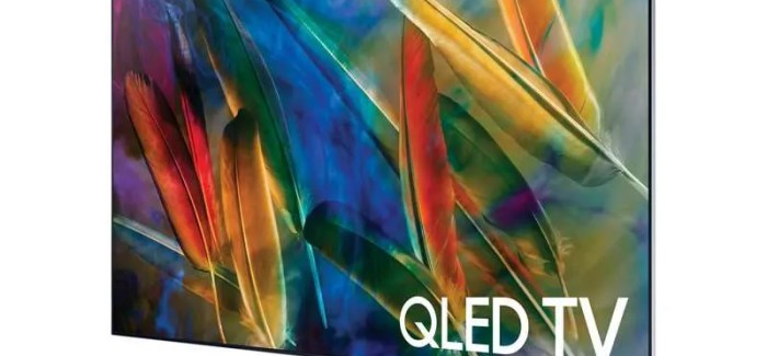 HANDS-ON PREVIEW: Samsung's QLED TVs