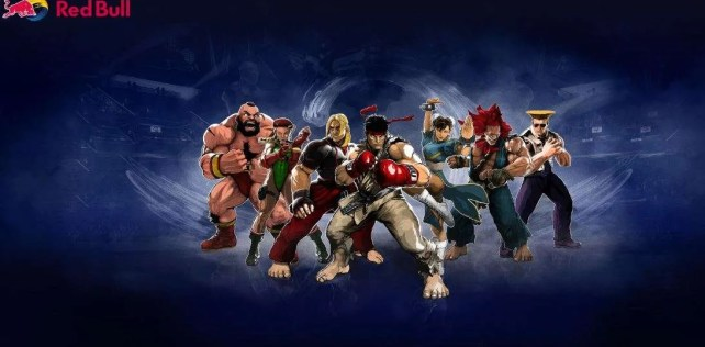 Red Bull and Capcom team up to unveil special edition Street Fighter cans