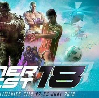 GamerFest 2018 Arrives in Limerick June 2nd & 3rd