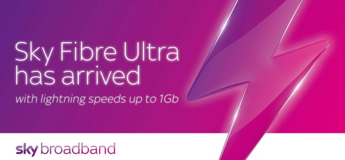 Sky Fibre Ultra arrives for Irish customers with speeds of up to 1Gb
