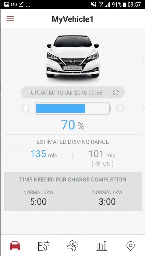 NissanConnect EV App