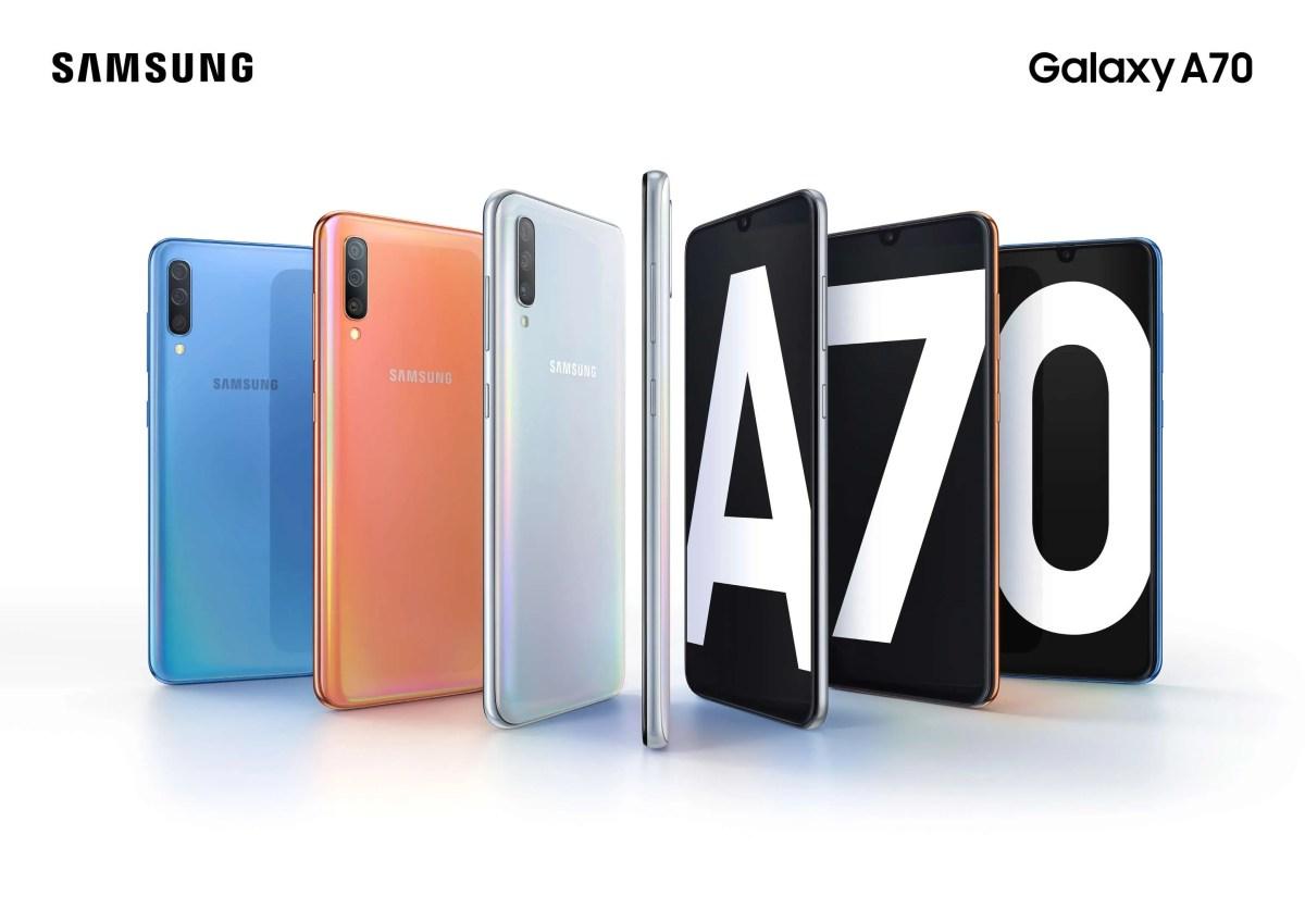 Samsung Ireland announce Galaxy A70 with massive 4500mAh battery