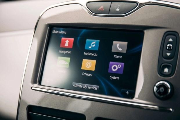 Renault ZOE Dash Interface