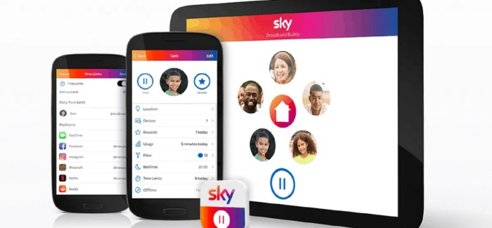 Sky Ireland launch new online safety app – Broadband Buddy – allowing parents to switch off internet access